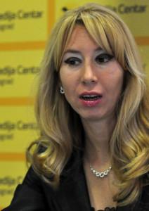 Dijana Subotički. Photo: Medija centar Beograd